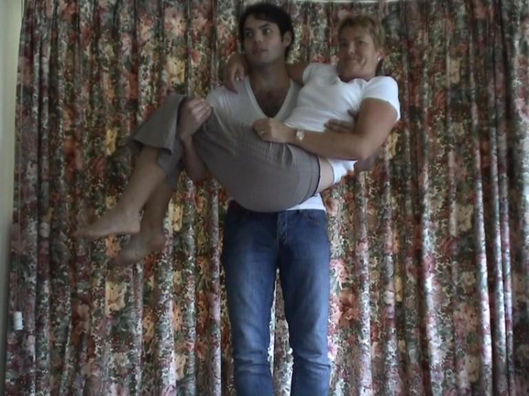 Lifting my mother for as long as I can (2008)
