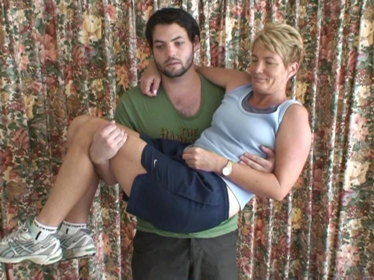 Lifting my mother for as long as I can (2010)