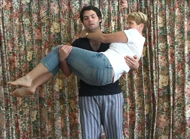 Lifting my mother for as long as I can (2011)