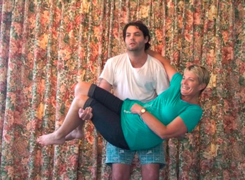 Lifting my mother for as long as I can (2013)