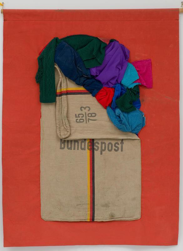 Red Bundespost Pocket