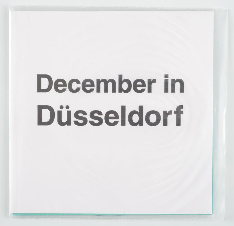 December in Düsseldorf