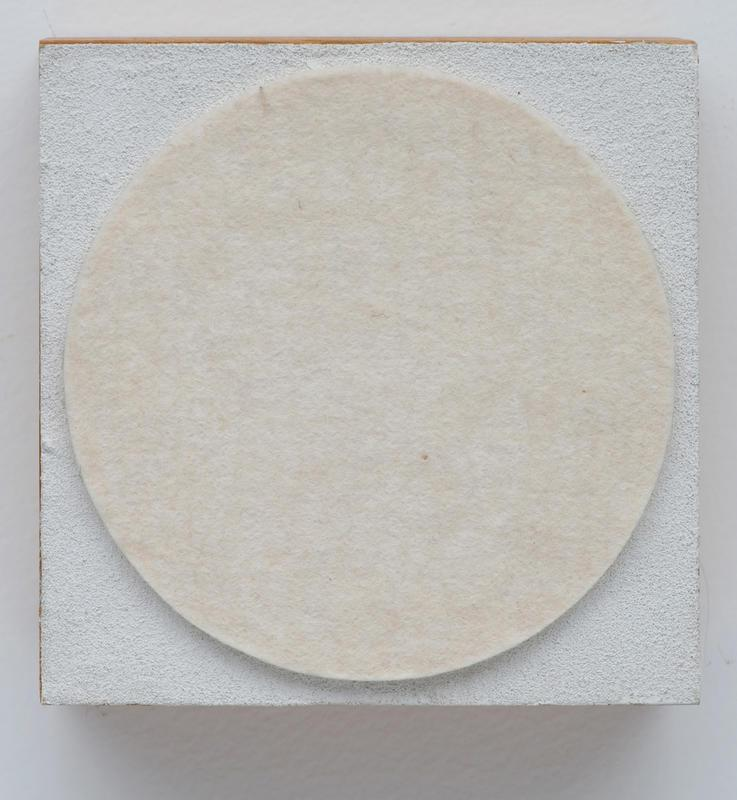 Block Painting: White Circle