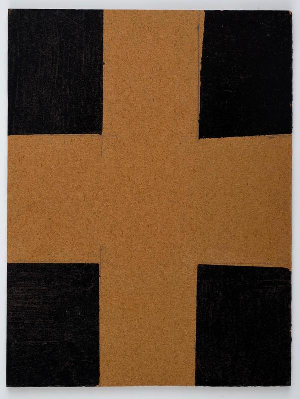Brown and Black Cross