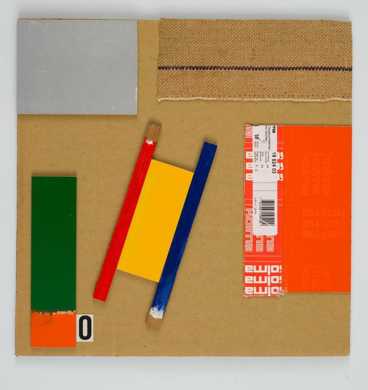 Orange Test Painting