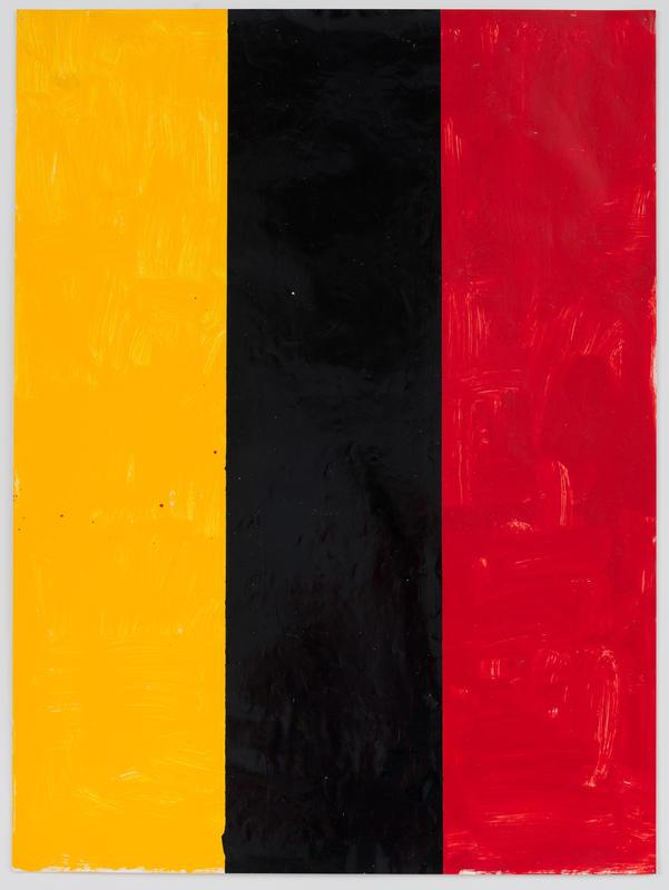 Yellow, Black and Red Tricolour