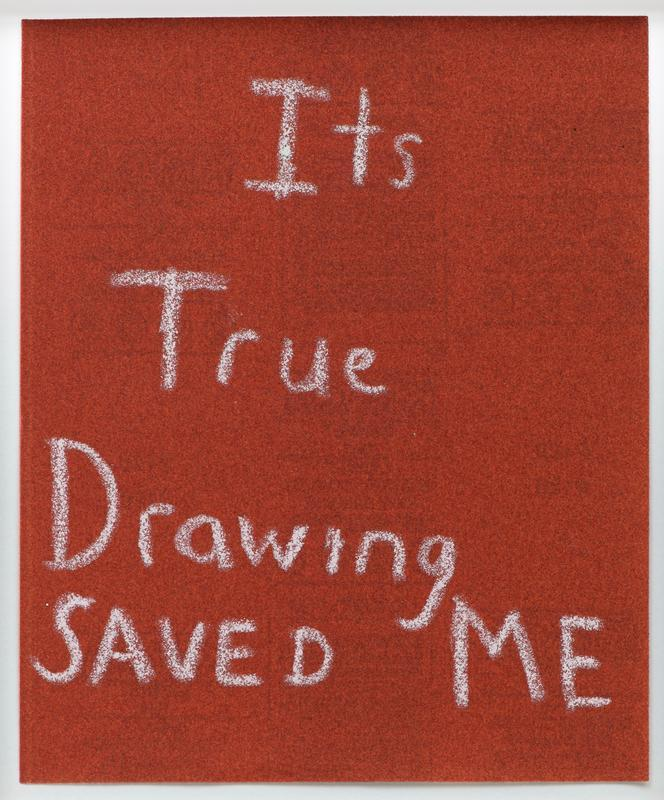 Its true Drawing saved me