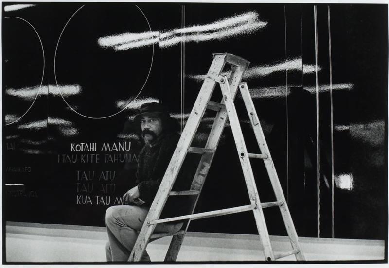 Ralph Hotere (Godwit/Kuaka Mural)