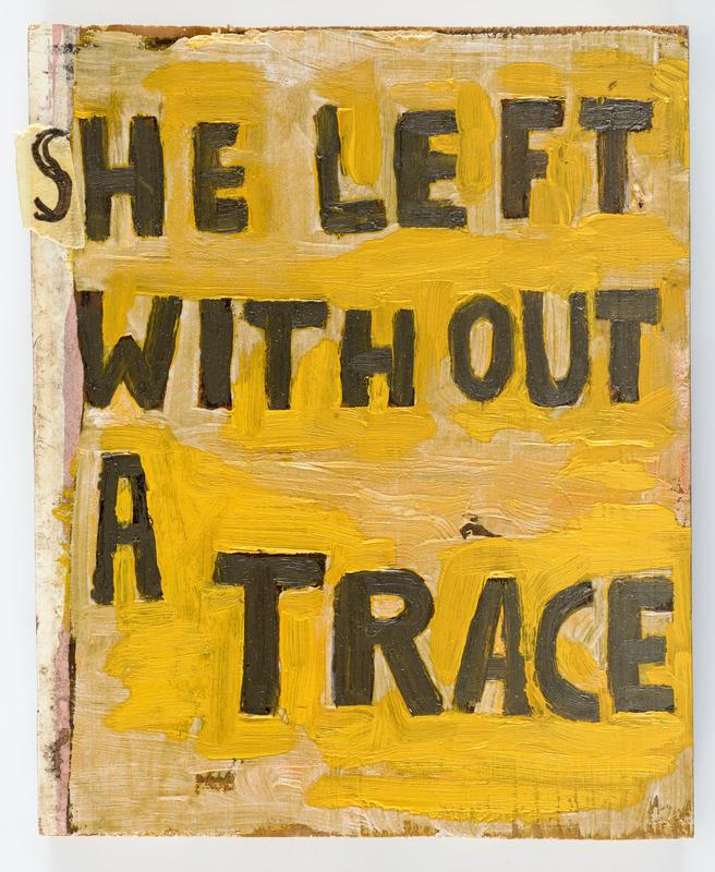 She Left Without A Trace