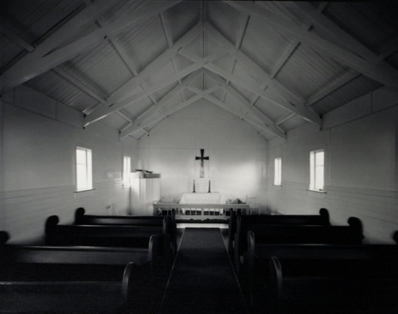 Interior: Church of the Transformation, Tautoro, North Island, 20 April 1982