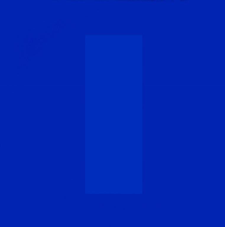 Cerulean Blue - To Len Lye