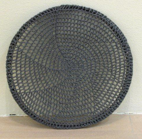 Crocheted Painting from 'Comfort Zone' (2001)