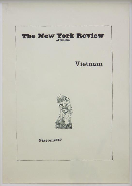 Untitled (Vietnam/Giacometti)
