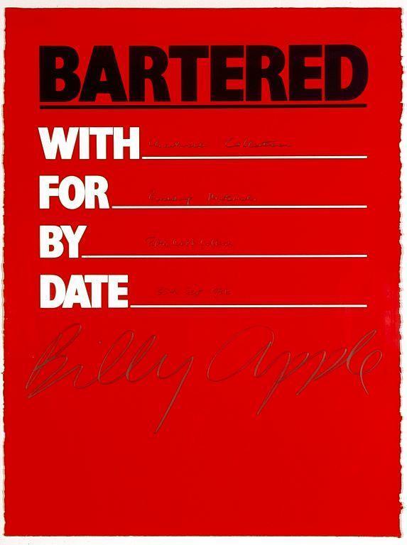 Bartered